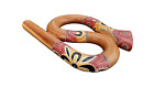 Spiral Travel Didgeridoo I Didghorn Spiral Compact Snake Snail Didge Horn picture