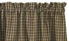 Cider Mill 36 Inch Lined Curtain Tiers