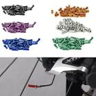 Bicycle Brake Cable End Caps Al Alloy Bike Shifter Inner Cable Pcs/set Tips X4c7