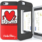 Genuine Keith Haring Card Bumper Case iPhone SE 2020 2nd Generation Case