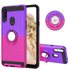 Rugged Gradient Armor Ring Stand Cover For Samsung Galaxy A10S A20e A70 A60 A30