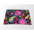 Pink Butterfly Gaming Mouse Pad Desktop Mat For Optical Trackable Laser Mouse
