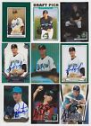 Florida Miami Marlins Signed auto cards PICK LIST 1.39-4.99 each autograph MLB on Ebay