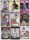 Baltimore Orioles Signed auto cards PICK LIST 1.69-4.19 each autograph MLB HOF on Ebay