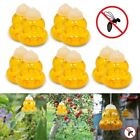 Lots Insect Wasp Trap 6 Tunnel Hornets Bees Killer Yellow Jackets Catcher Reused