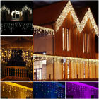 Christmas Outdoor Party Decoration 3.5m 5m Droop Curtain Icicle String LED Light