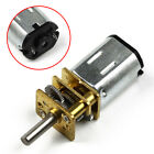 #US N20 Micro Gear Box Geared Motor Speed Reduction Motor Electric DC 3V 6V 12V