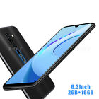 6.3 In 4g Lte 16gb Ram 2gb Android 9.0 Unlocked Cell Phone Smartphone 4core 2sim
