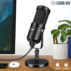 Aokeo Condenser USB Microphone Audio Stand for Game Chat Studio Recording