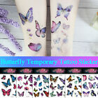 Watercolor Butterfly Temporary Tattoo Sticker Waterproof Children Body Art^ $4.13 USD on eBay