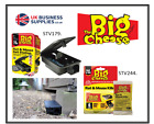 Big Cheese Rat & Mouse Bait Stations & 6 x 25g Sachets for Inside & outside use