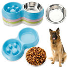 Bowls Stainless Steel Puppy Feeder Dog Feeding Cat Drinking Water Pet Bowl