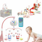 Toddler Baby Mobile Crib Windup Movement Music Machine Toy Stroller Bed Bell USA