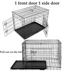 Small Medium Large XL XXL Heavy Duty Metal Cage Crate Pet Dog Pen Fence Kennel