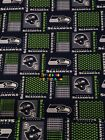 NFL SEATTLE SEAHAWKS Cotton Fabric - 1/4 Yard to 1 YARD - OOP $14.95 USD on eBay