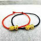 Feng Shui Weaving Rope Wealth Pi Xiu Bracelet Attract Wealth Top Good Luck P7h1