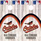 Baltimore Orioles Cornhole Skin Wrap MLB Game Decal Vinyl Sticker Logo DR523 on Ebay