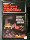 Chilton's Guide to Small Appliance Repair and Maintenance Paperback photo