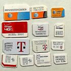 Sprint Verizon AT&T Tmobile Ting nTelos US Cellular Nano Micro Mini SIM Cards