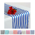 5PCS of Ever Lovable Stripes Table Runner For Wedding Party Banquet Decoration