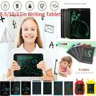 8.5/10/12in Digital LCD Writing Tablet Electronic Drawing Board Notepad Gift LOT