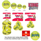 KONG SqueakAir Tennis Balls Squeaky Dog Toy Fetch- Extra Small Small Medium