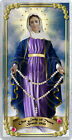 Our Lady of Tears, Brazil, laminated Holy Prayer card. Statue of Mary
