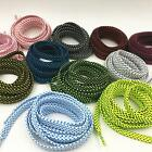 FLAT DOT COLORFUL SHOELACES LACES FOR ALL SHOE STYLES SNEAKERS BUY 2 GET 1 FREE