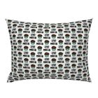 Stud Muffin Valentines Day Boy Baby Cute Dog Food Pillow Sham by Roostery