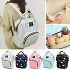 Oxford Baby Care Top-handle Bag Print Mommy Backpack Large Maternity Diaper Pack