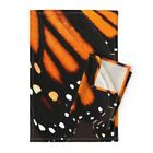 Monarch Butterfly Wing Skirt Dress Linen Cotton Tea Towels by Roostery Set of 2