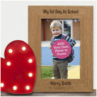 My First 1st Day at School Frame PERSONALISED Child Back To School Photo Gifts