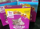 Whiskas Adult 1+ Complete Tuna Cat Food Cats Tasty filled pockets Chicken - Tuna
