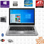 HP Elitebook 14 inch Core i7 1GB ATI Radeon 8GB RAM Win10 MSOffice Laptop