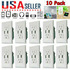 US Dual USB Wall Outlet Charger Port Socket with 15A Electrical Receptacles Home