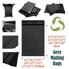 Grey Mailing Bags All Sizes Poly Postal All Packs Postage Parcel Self Seal Bag