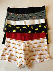 H&M 3 Pack Cotton Stretch Trunks SUSHI TACOS HOT DOGS TRUNKS Size XS NEW