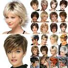 Women's Ombre Short Wig Pixie Curly Hair BOB Wigs Synthetic Natural Cosplay Wigs