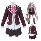 Danganronpa Another Episode Utsugi Kotoko Zettai Cosplay Halloween Costume Suit
