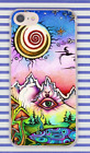 Hippie Psychedelic Peace Art Mountain Eye Hard Cover Case For iPhone Huawei New