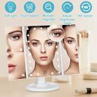 22 Led 10x Magnifying Fold Make Up Mirror Cosmetic Vanity Dressing Table Light