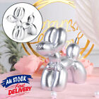 Small Balloon Dog Sculpture Gift Decor Ornament Cute Kids Room Home Resin Crafts