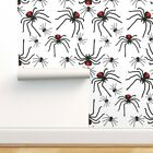 Peel-and-Stick Removable Wallpaper Creepy Spider Halloween Poison Insect Scary