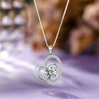Gorgeous Heart 925 Silver,gold Necklace Pendants Women Jewelry Free Shipping