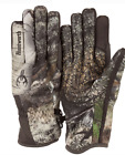 HuntWorth Mossy Oak Mountain Country Gunner Stealth Hunting Gloves Camo Shooting