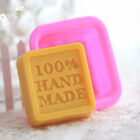 Rectangle Soap Mold Silicone Mould Fondant Baking Tray Homemade DIY Making wo