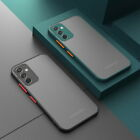 For Samsung Galaxy A21S A51 A71 Note 20 S20 S21 Shockproof Clear Hard Case Cover
