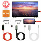 4k Display Type C To HDMI Cable Adapter for Huawei P20 P30 Mate 20/30 pro Nova5i