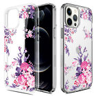 For iPhone 12 5G Phone Case Shockproof Crystal Clear Transparent Bumper Cover