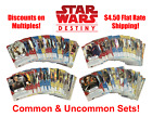 Star Wars Destiny - Complete Common and Uncommon Sets - 3.75 Flat Shipping